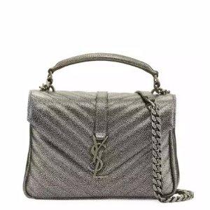 Saint Laurent Monogram College Medium Shoulder Bag @ Neiman Marcus