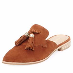 Slide Along 麂皮穆勒鞋