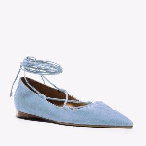 Kallie Runway Suede Lace-up Flat | Michael Kors