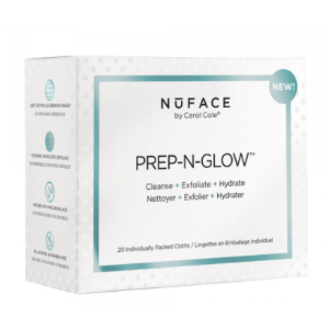 Prep-N-Glow Cloths   NuFACE   b-glowing