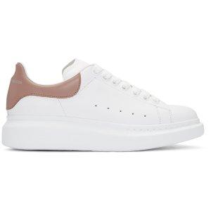 Alexander McQueen: White Oversized 厚底小白鞋