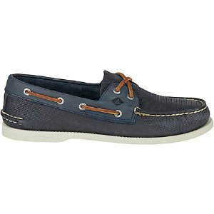 Men's Authentic Original 2-Eye Perforated Boat Shoe - Boat Shoes | Sperry