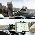 Otium 长臂式360度可旋转车载手机固定架