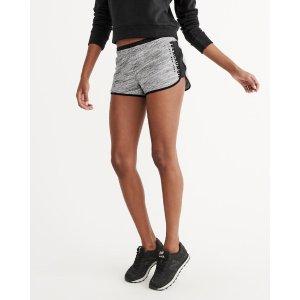 Womens Active Fleece Shorts | Womens Summer Sale Styles | Abercrombie.com
