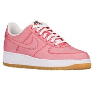 Nike Air Force 1 LV8 - Men's - Basketball - Shoes - Game Red/Game Red/Gum Light Brown