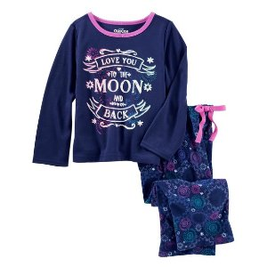 2-Piece To the Moon and Back PJs