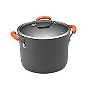 Rachael Ray® 10-qt. Hard-Anodized II Cookware Covered Stockpot | Bon-Ton