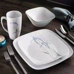 Corelle Shadow Iris 16-pc. Dinnerware Set