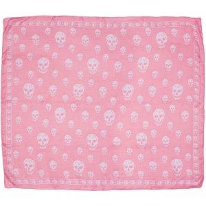 Alexander McQueen: Pink Skull Scarf