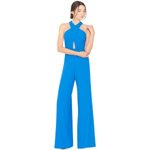 Trinity Crossfront Wideleg Jumpsuit | From Alice + Olivia