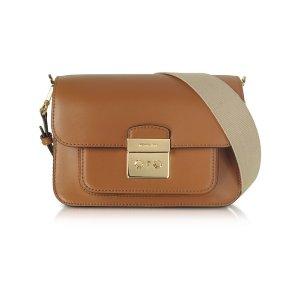 Michael Kors Sloan Editor Large Acorn Leather Shoulder Bag