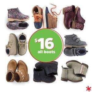 $16Kids Shoes Doorbuster @ OshKosh BGosh