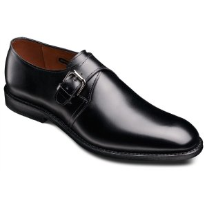 Warwick - Monk Strap Slip-on Loafer Men's Dress Shoes by Allen Edmonds