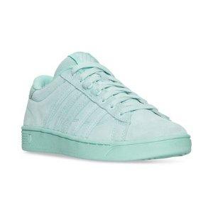 K-Swiss Women's Hoke Suede CMF Casual Sneakers