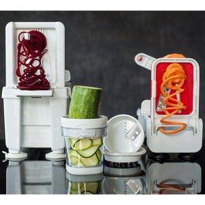 $24.94史低价:Paderno World Cuisine 四刀片式蔬菜水果切片机