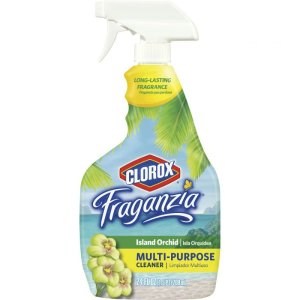 Clorox Fraganzia Multi-Purpose Cleaner Spray, Island Orchid, 24 oz