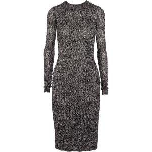 Dakota ribbed-knit dress