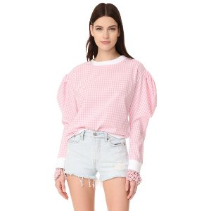 Michaela Buerger Puff Sleeves Sweatshirt