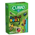 Curad Bandages, Busy Bugs, 20 Count