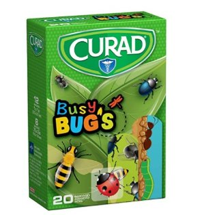 $0.95Curad Bandages, Busy Bugs, 20 Count