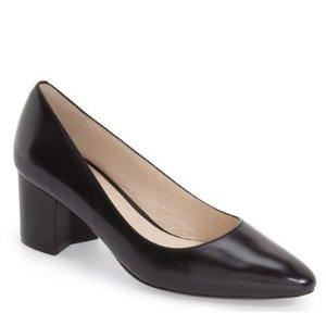Cole Haan Eliree Leather Block Heel Pump