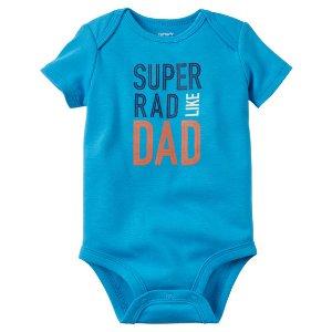 Baby Boy Rad Like Dad Collectible Bodysuit | Carters.com
