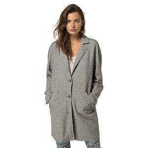 SPRING WEIGHT WOOL COAT | Tommy Hilfiger