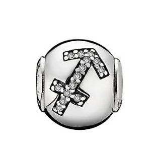 PANDORA Essence Collection Silver CZ Sagittarius Charm