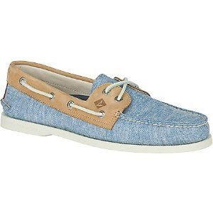 Men's Authentic Original 2-Eye Linen Boat Shoe - View All | Sperry