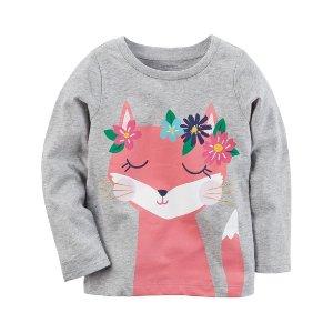 Flower Fox Tee