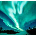 北国的天际,加拿大黄刀镇极光指北