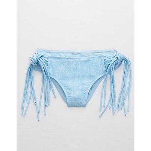 Aerie Hipster Cheeky Bikini Bottom , Light Wash | Aerie for American Eagle