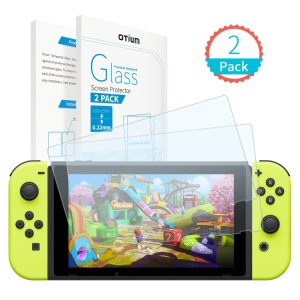 Tempered Glass Screen Protector for Nintendo Switch (2-Pack)