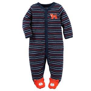 Baby Boy Terry Snap-Up Sleep & Play | Carters.com
