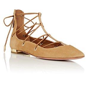 Aquazzura 绑带鞋 | Barneys Warehouse