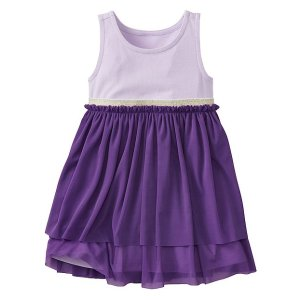 Toddler Swish Sparkle Dress With Tulle Tiers | Sale Dresses Starting At $25 Baby