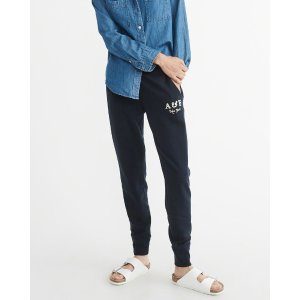Womens Logo Joggers | Womens Sale Up to 50% Off | Abercrombie.com