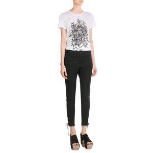 Printed Cotton T-Shirt - Alexander McQueen