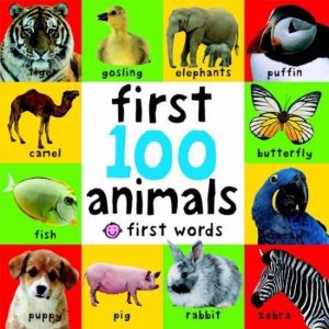 FIRST 100 ANIMALS BB - Walmart.com
