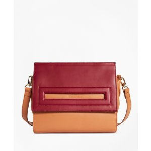 Bailey Color-Block Satchel - Brooks Brothers