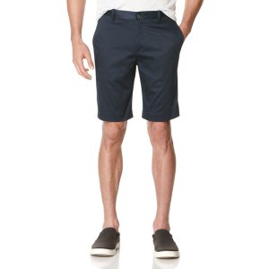 Slim Fit Satin Short - Perry Ellis