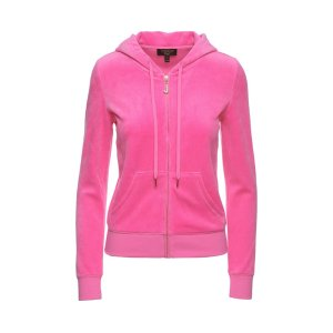 J BLING ROBERTSON VELOUR JACKET - Juicy Couture