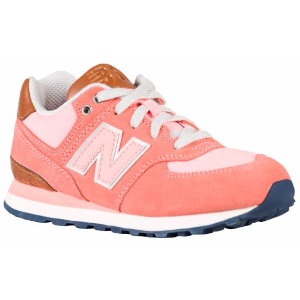 New Balance 574 - Girls' Grade School - Running - Shoes - Pink/Cruisin'