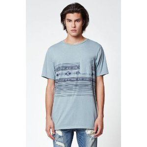 On The Byas Spear Jacquard Pocket T-Shirt at PacSun.com