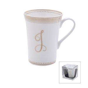 Mikasa® Gift Mugs Monogram J Mug