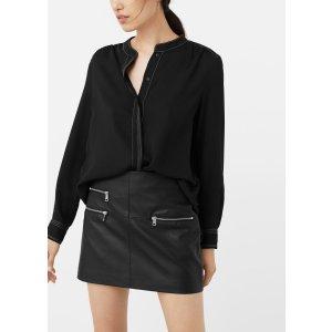 Decorative seam blouse - Women | OUTLET USA