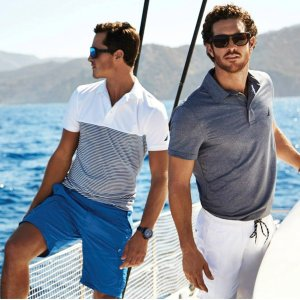 Extra 60% Offwith Men's Tops @ Nautica