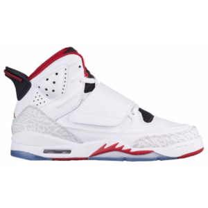 Jordan Son of Mars - Boys' Grade School - Basketball - Shoes - White/Gym Red/Black/Pure Platinum