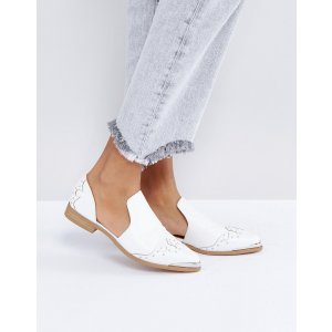 ASOS MONACO Western Flat Shoes