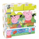 Peppa Pig Giant EVA Foam Floor Puzzle (9-Piece)